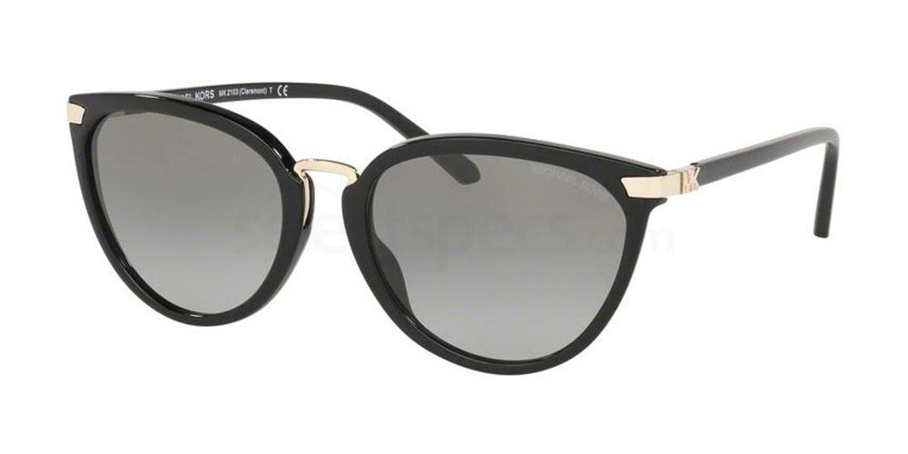 300511 MK2103 CLAREMONT Sunglasses, MICHAEL KORS