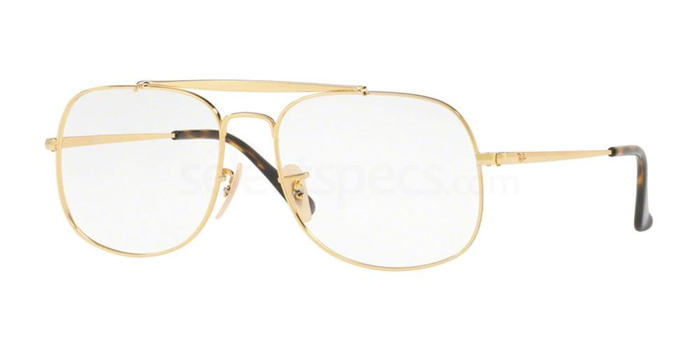 2500 RX6389 Glasses, Ray-Ban