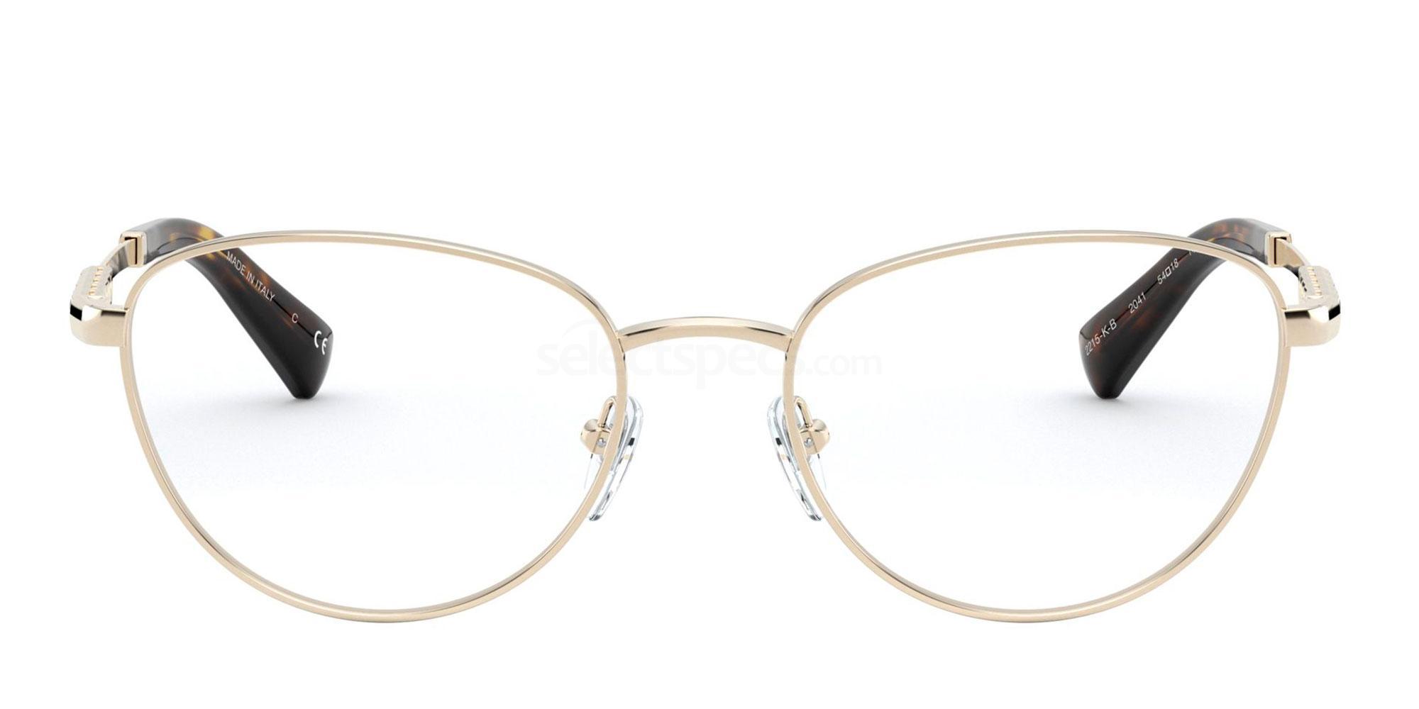 2041 BV2215KB Glasses, Bvlgari