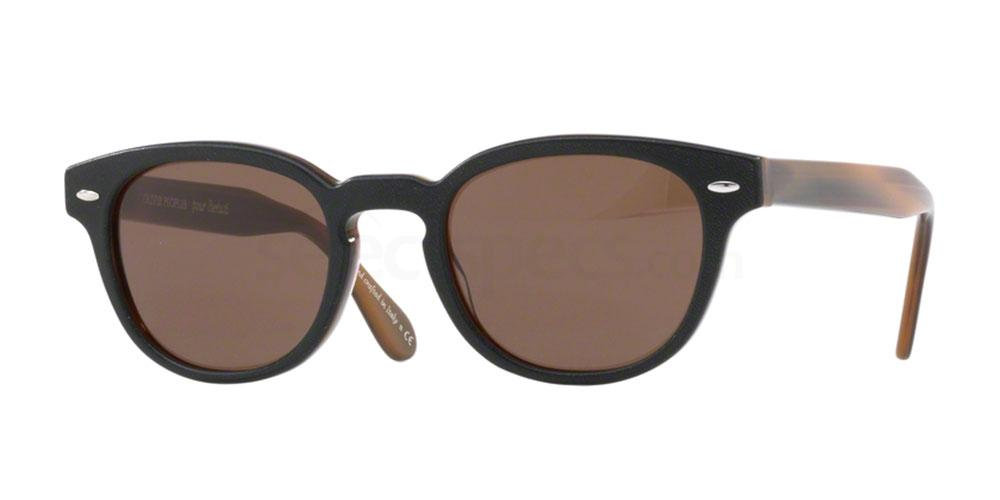 160273 OV5036SQ SHELDRAKE LEATHER , Oliver Peoples