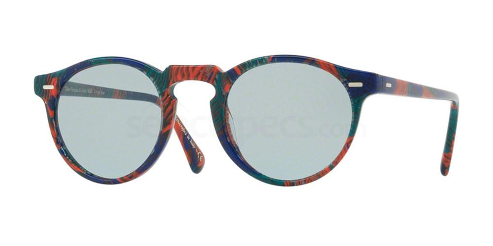 1621R5 OV5217S GREGORY PECK SUN , Oliver Peoples