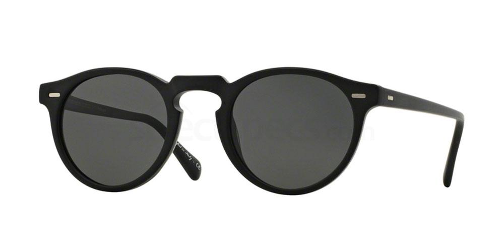 1031P2 OV5217S GREGORY PECK SUN Sunglasses, Oliver Peoples