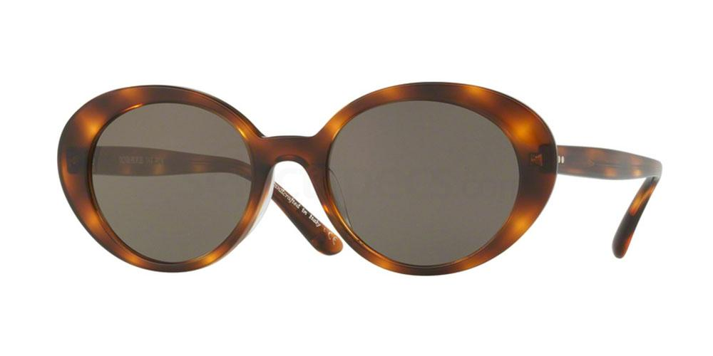 1556R5 OV5344SU PARQUET Sunglasses, Oliver Peoples
