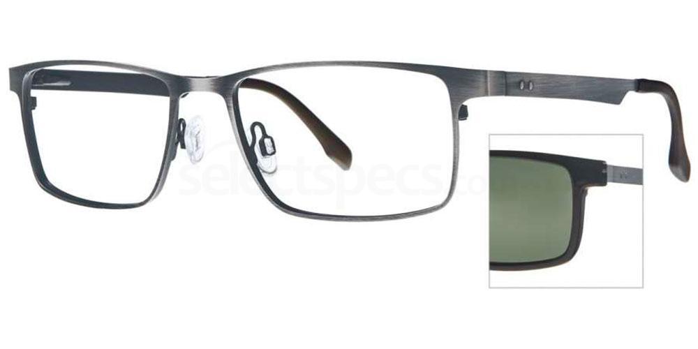 C1 353 with Polarised Clip On Glasses, RETRO