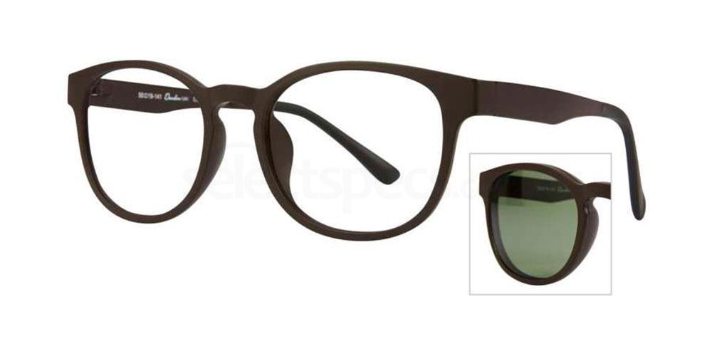 C1 379 with Polarised Clip On Glasses, RETRO