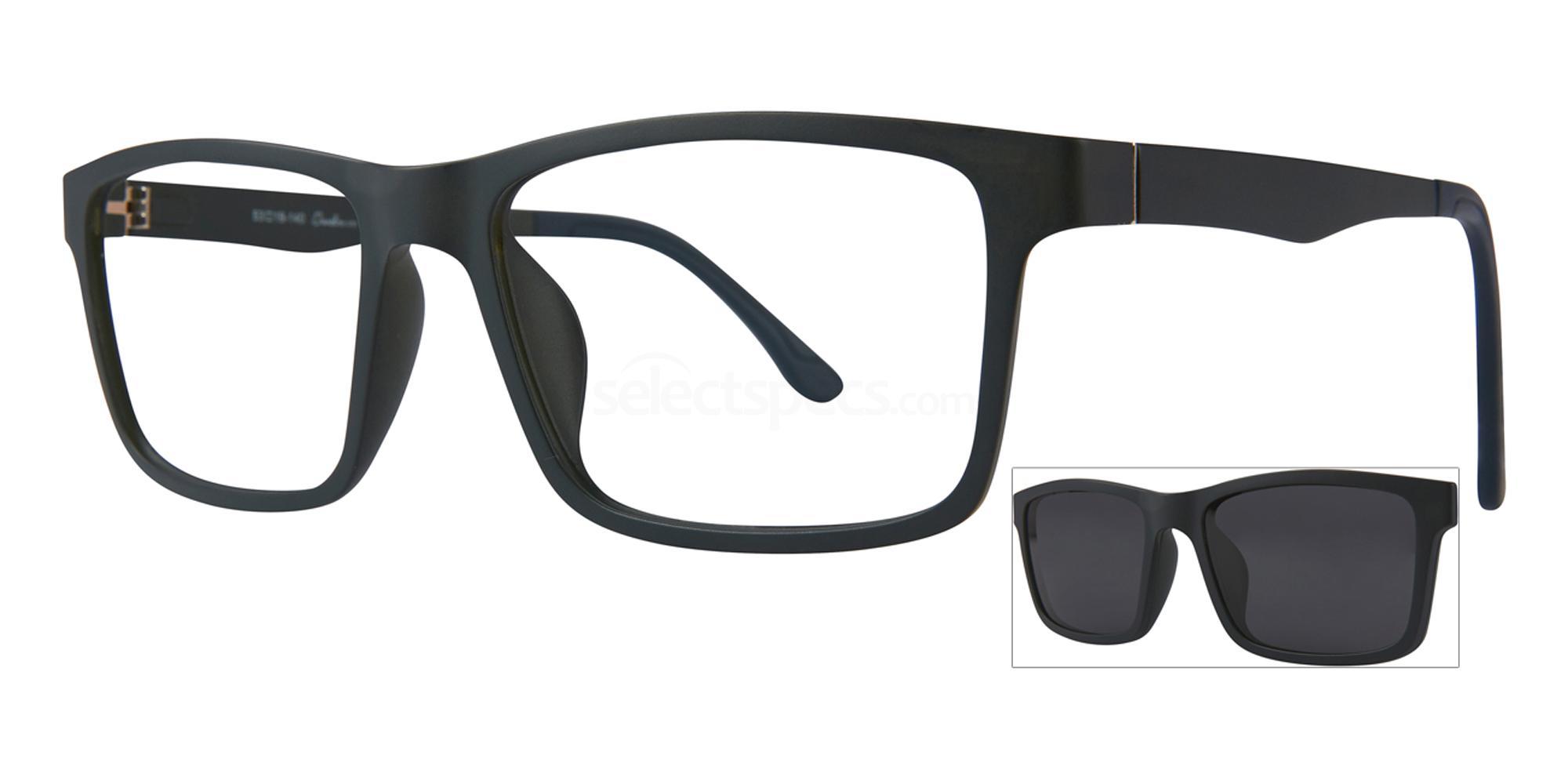C1 403 with Polarised Clip On Glasses, RETRO