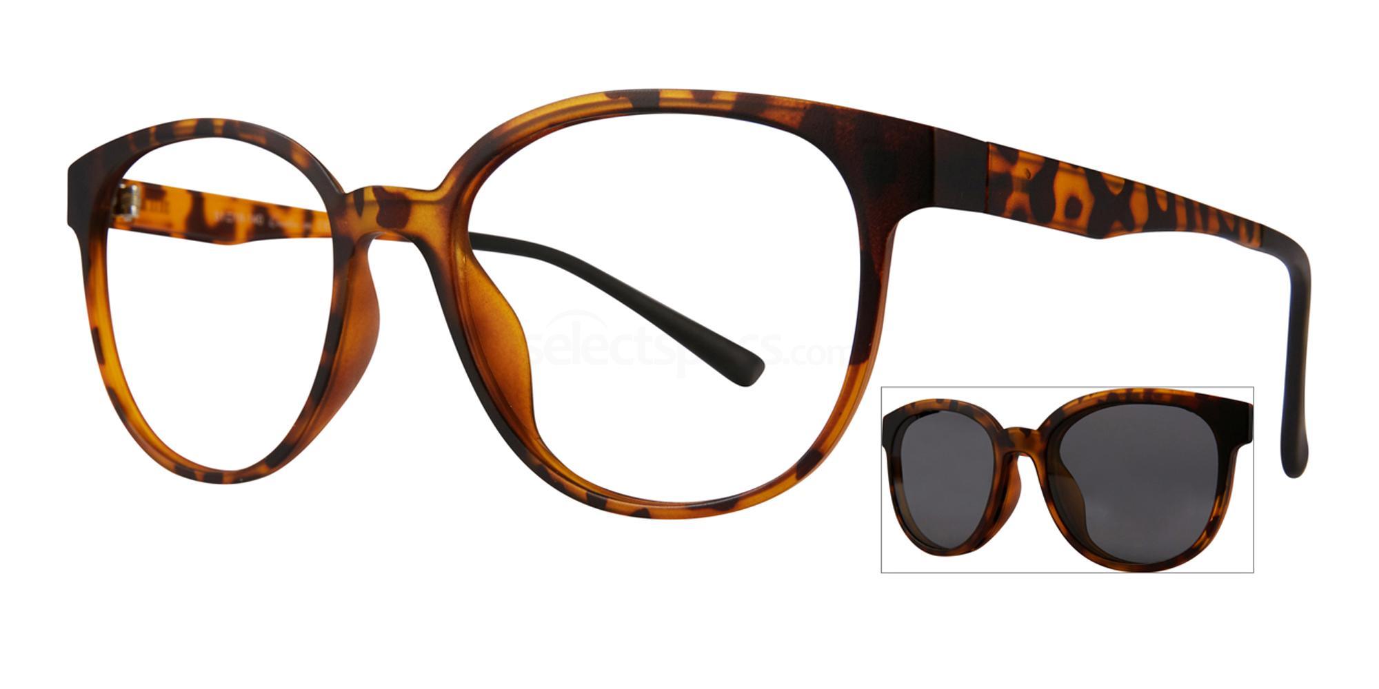 C1 404 with Polarised Clip On Glasses, RETRO