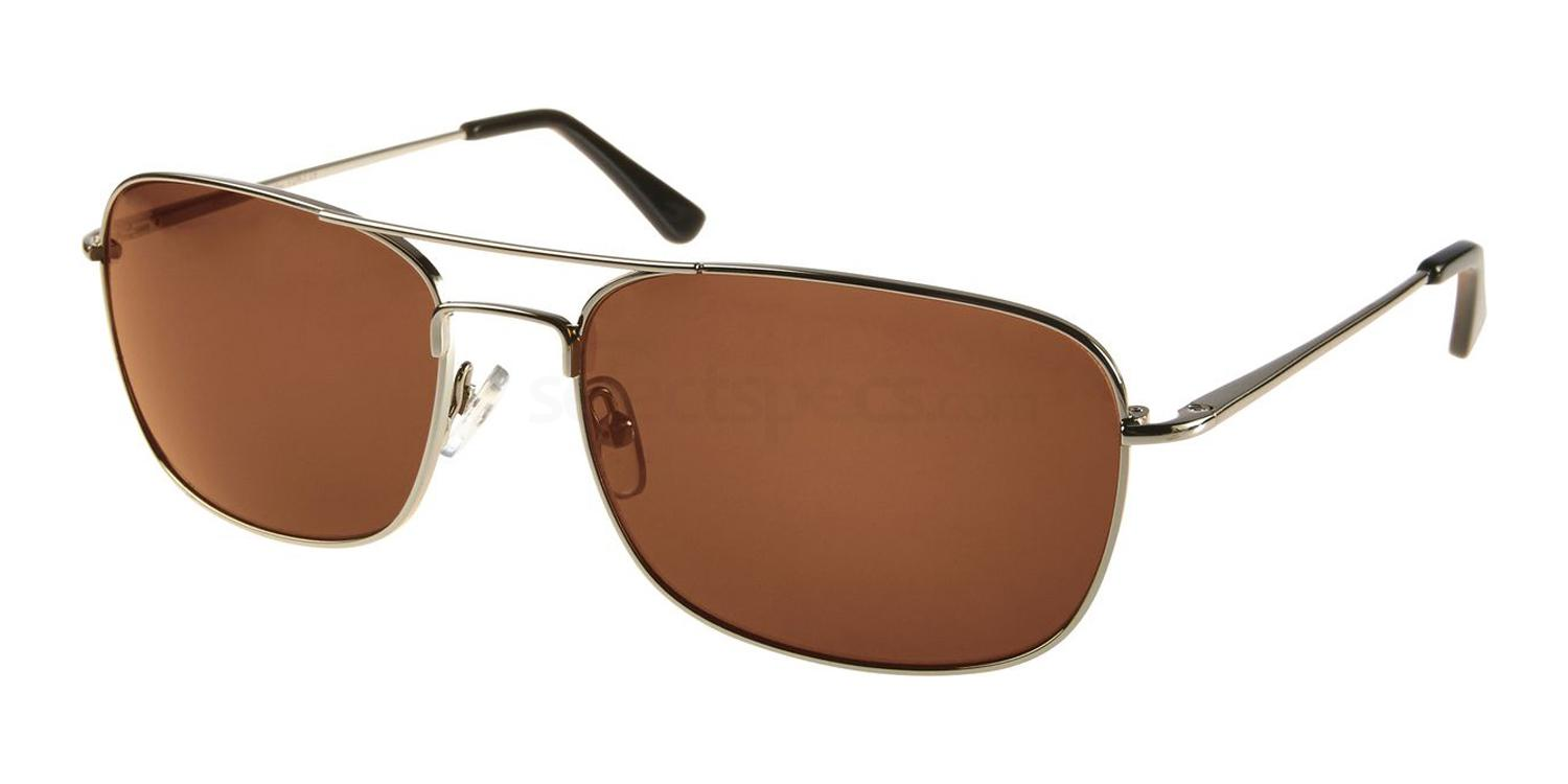 Brown squared sunglasses SUNSET man style: Chris Martin insto
