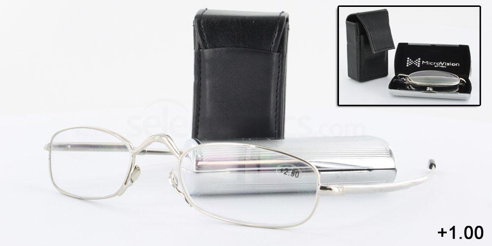 FRNS21100 MicroVision Folding Vision - Super Compact Reading Glasses Accessories, Optical accessories