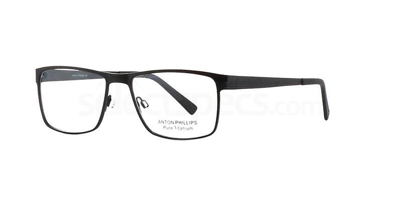 Matt Black AP1016 Glasses, Anton Phillips