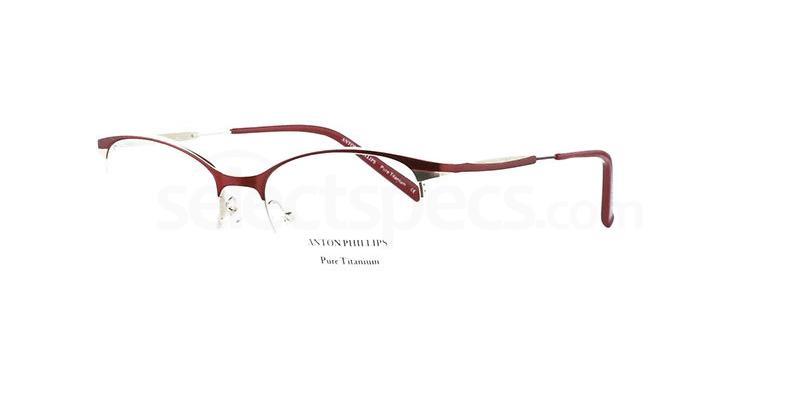 Satin Claret AP2025 Glasses, Anton Phillips