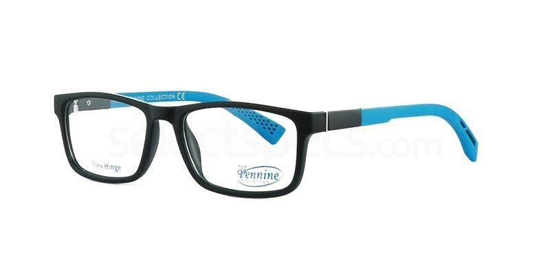 Black/Blue CARLO Glasses, Pennine Originals
