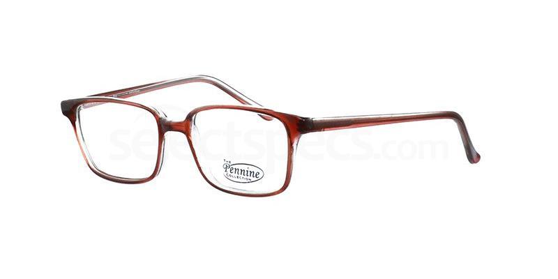 Brown FRANKIE Glasses, Pennine Originals