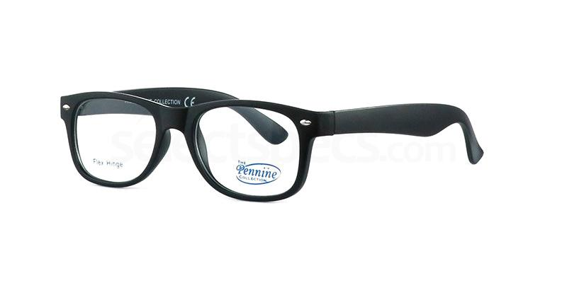 Black JOSH 2 Glasses, Pennine Originals