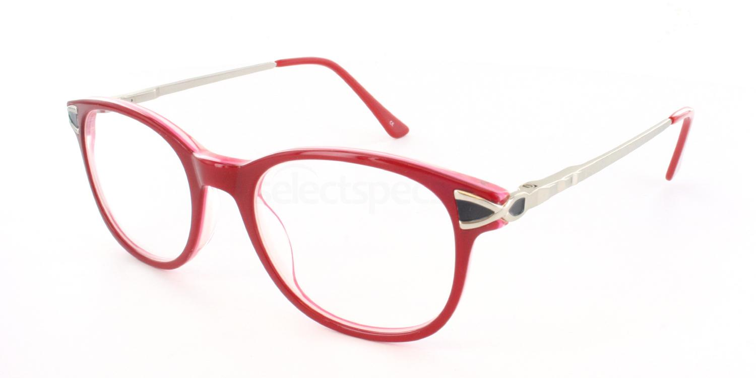 Red O3218 Glasses, Antares