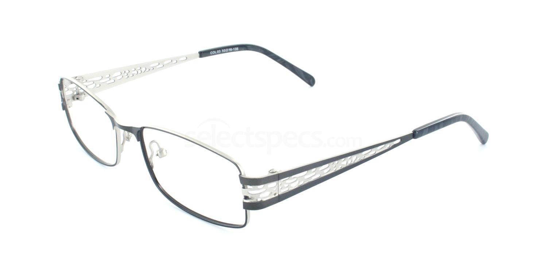 C03 1764 Glasses, Ferucci
