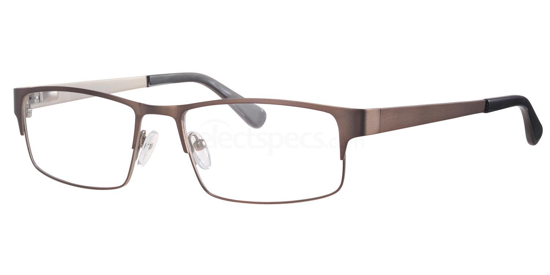 C44 692 Glasses, Ferucci Titanium
