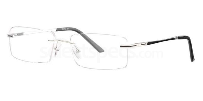 C51 672 Glasses, Ferucci Titanium
