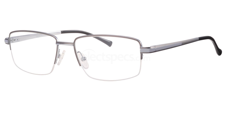 C20 705 Glasses, Ferucci Titanium