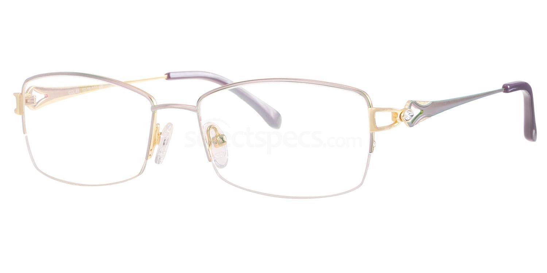 C40 707 Glasses, Ferucci Titanium