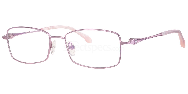C50 708 Glasses, Ferucci Titanium
