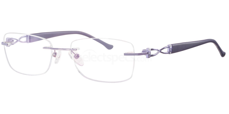 C80 712 Glasses, Ferucci Titanium