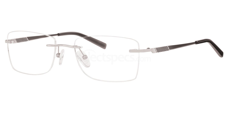 C90 713 Glasses, Ferucci Titanium