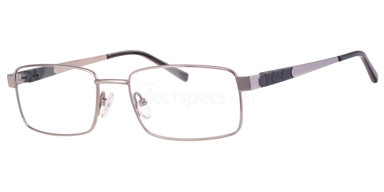 C10 714 Glasses, Ferucci Titanium