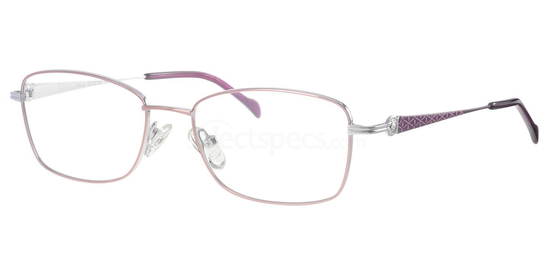 C50 718 Glasses, Ferucci Titanium