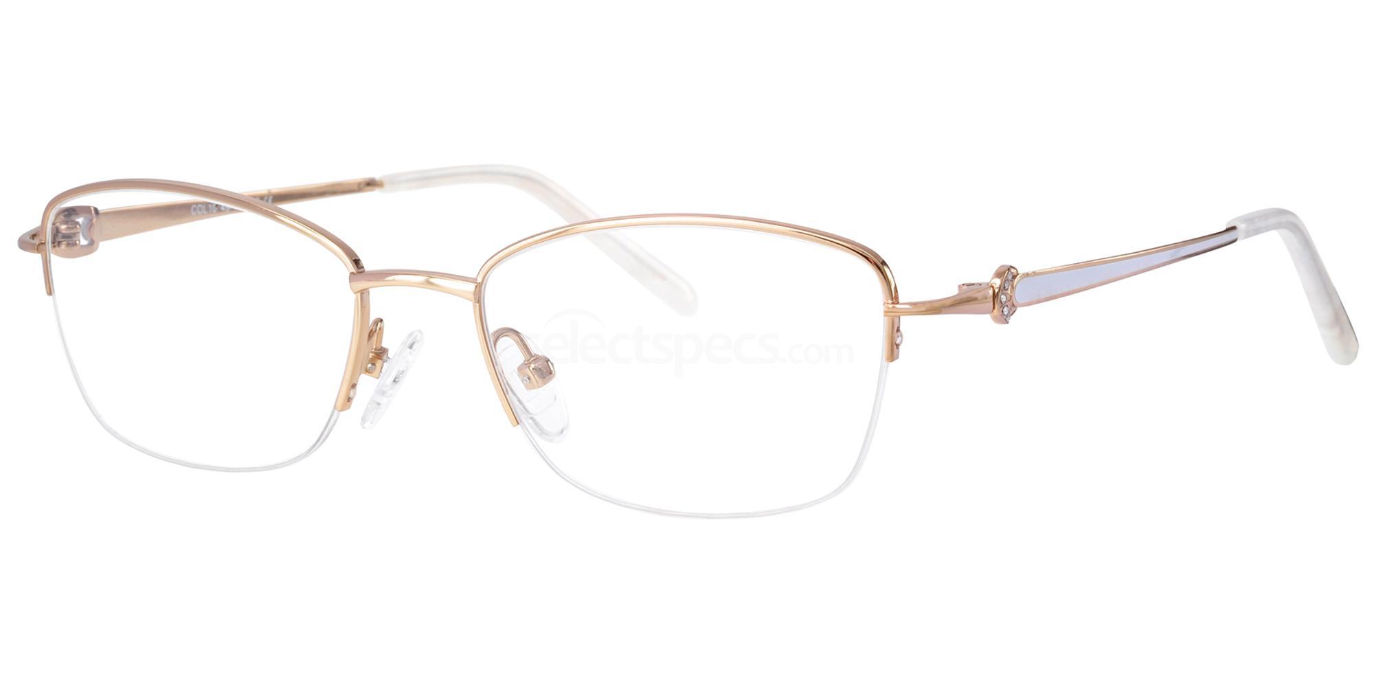 C10 723 Glasses, Ferucci Titanium