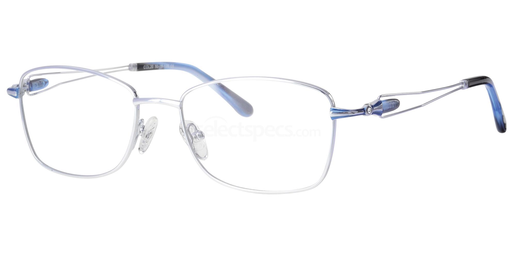 C20 724 Glasses, Ferucci Titanium