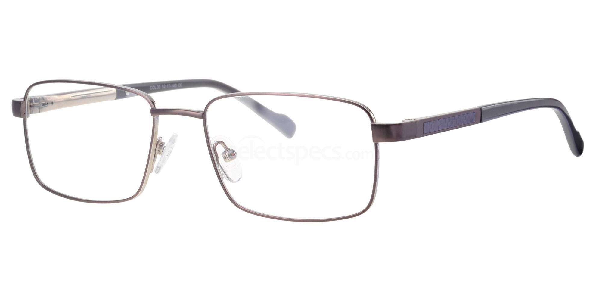 C30 725 Glasses, Ferucci Titanium