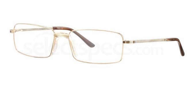 C66 674 Glasses, Ferucci Titanium Classic