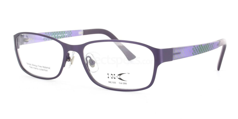 350 INC533 Glasses, INC Vision