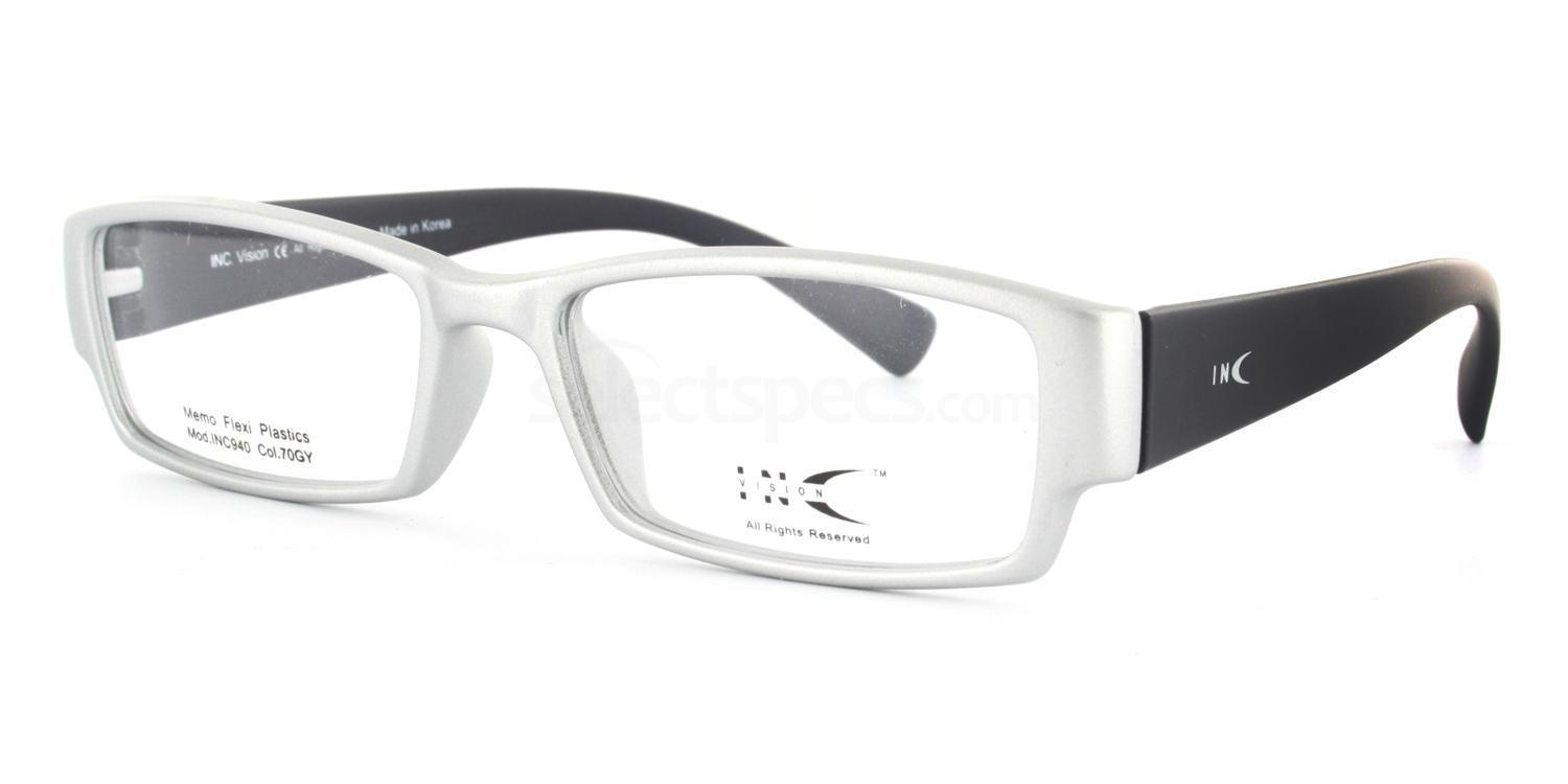 70GY INC940 Glasses, INC Vision