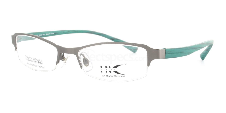 80TG INC958 Glasses, INC Vision