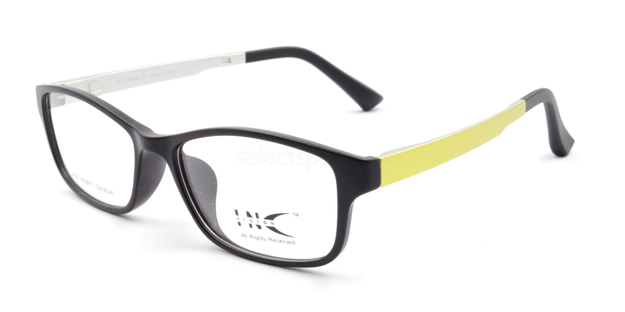 20LE INC 870 Glasses, INC Vision