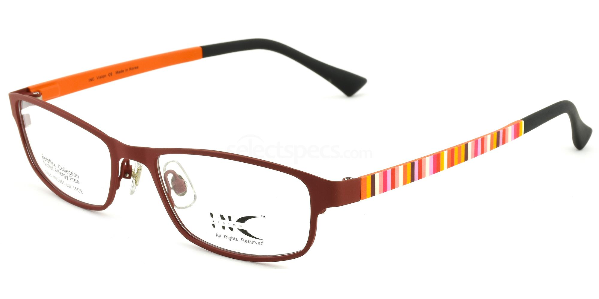 15OE INC 961 Glasses, INC Vision