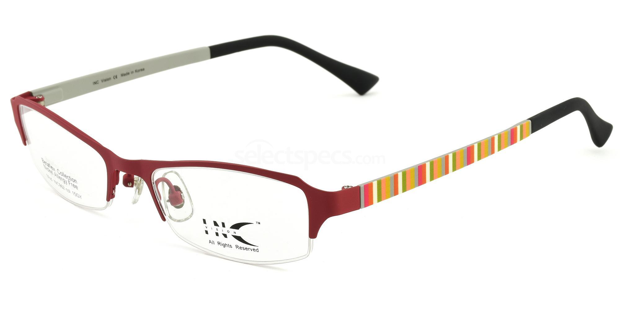 15GY INC 962 Glasses, INC Vision
