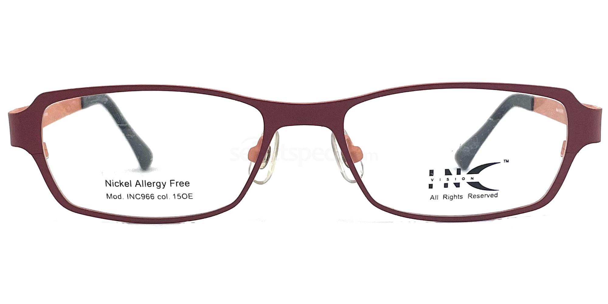 15OE INC 966 Glasses, INC Vision