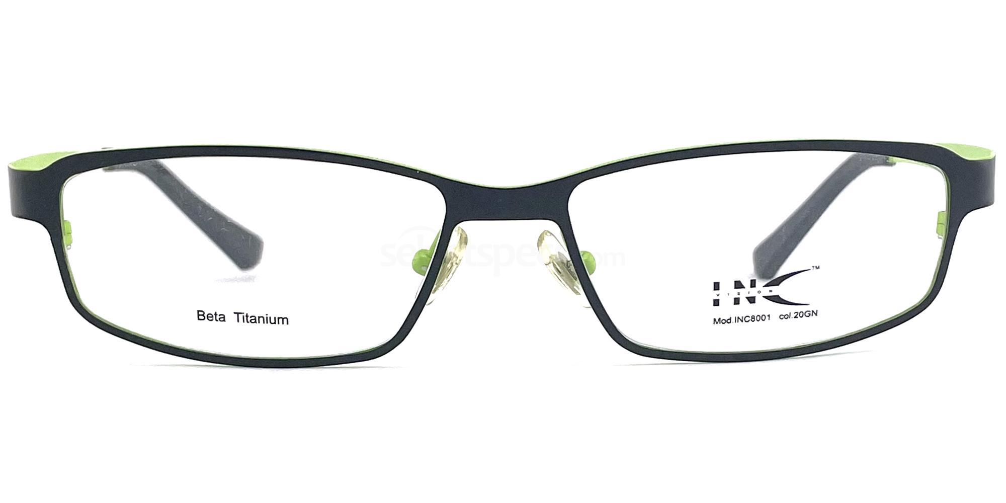 20GN INC 8001 Glasses, INC Vision