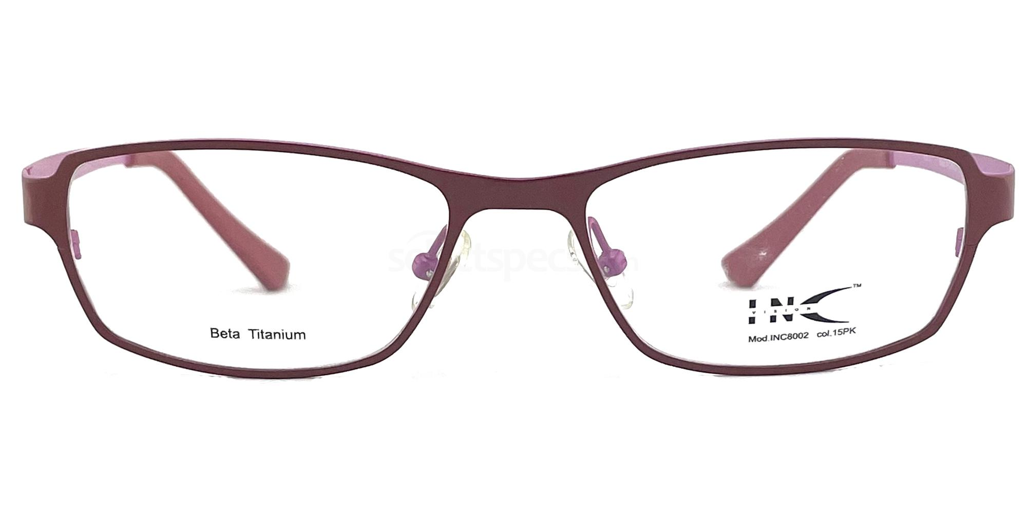 15PK INC 8002 Glasses, INC Vision