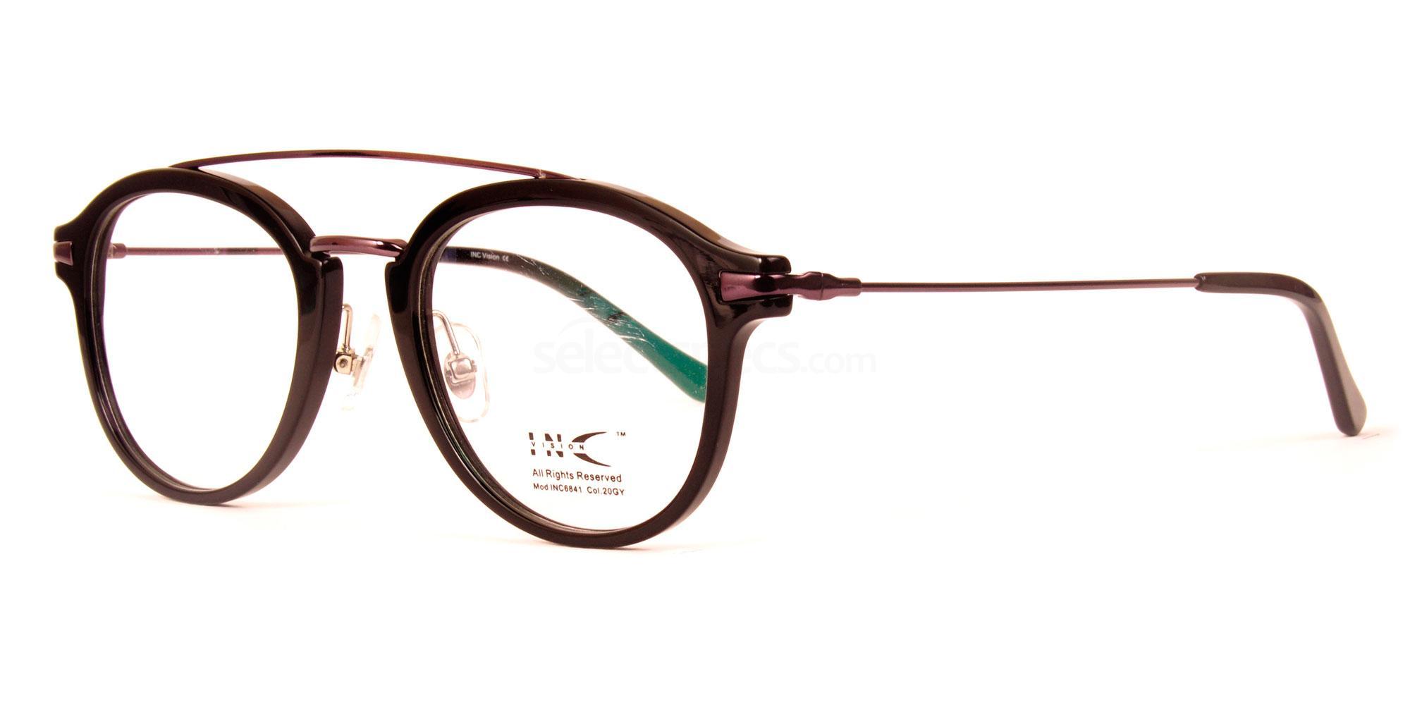 20GY INC6841 Glasses, INC Vision
