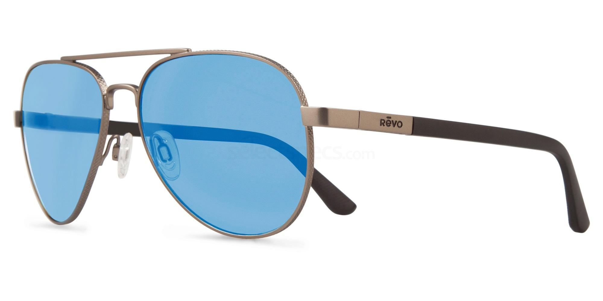 00BL Raconteur - RE1011 Sunglasses, Revo