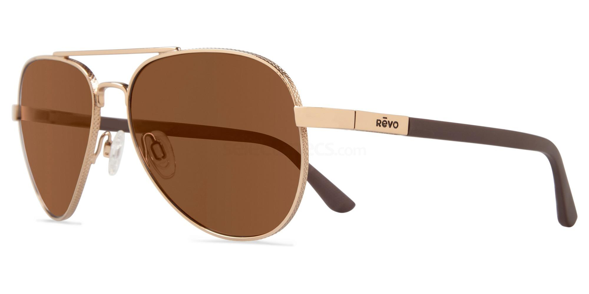 04BR Raconteur - RE1011 Sunglasses, Revo