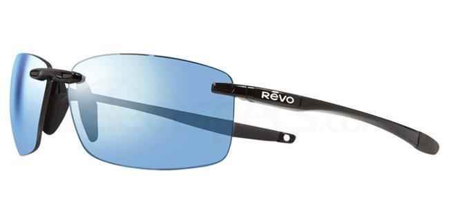 01BL DESCEND XL - RE1070XL Sunglasses, Revo