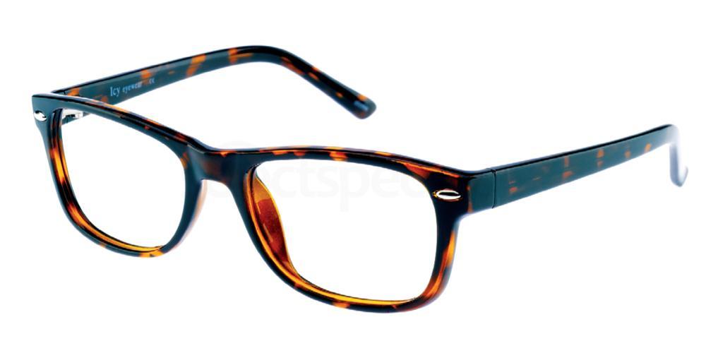 C2 Icy 183 Glasses, Icy Eyewear - Plastics