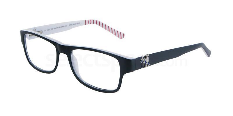 C07 NYII004 Glasses, New York Yankees TEENS