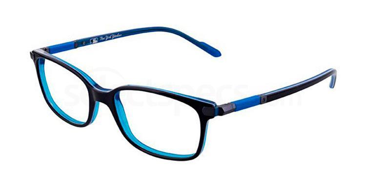 C07 NYAM035 Glasses, New York Yankees TEENS