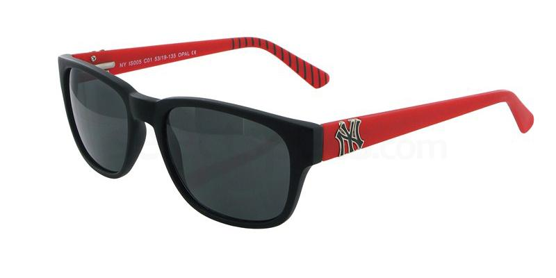 C01 NYIS005 Sunglasses, New York Yankees TEENS